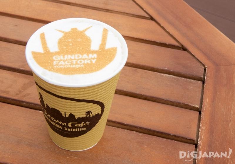 GUNDAM Café, Gundam Latte art