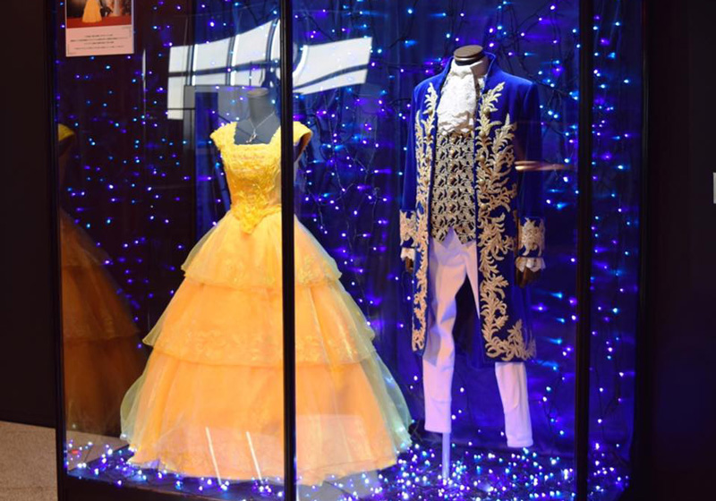 "Special costume worn by the Japanese voice cast for ""Beauty and the Beast"""