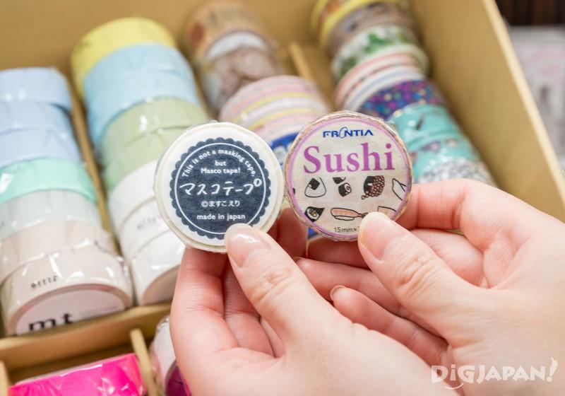壽司花樣的mt膠帶