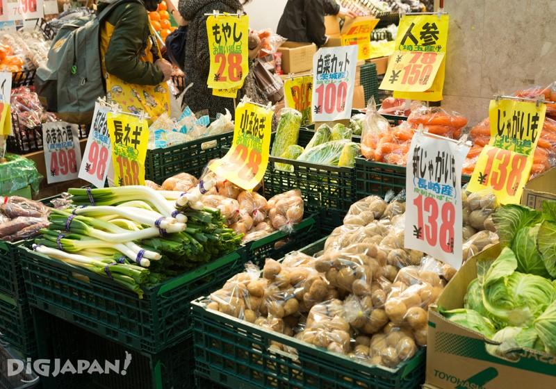 蔬菜水果攤