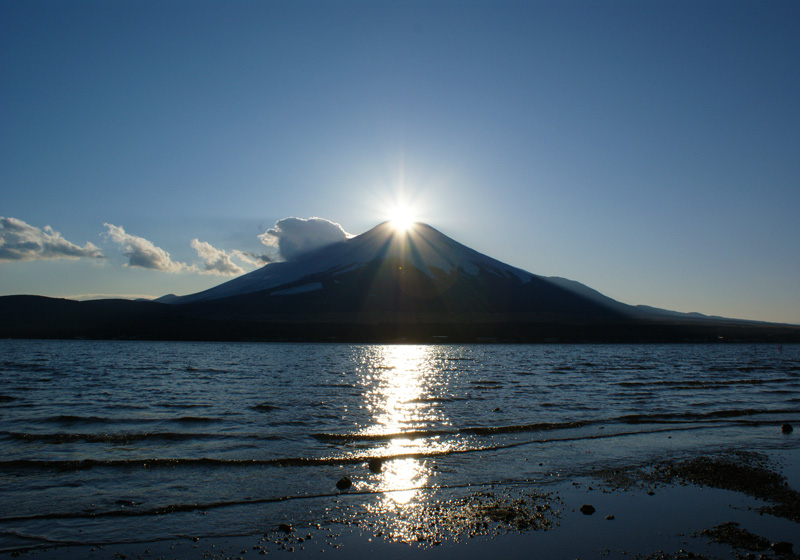 Diamond Fuji from Lake Yamanaka