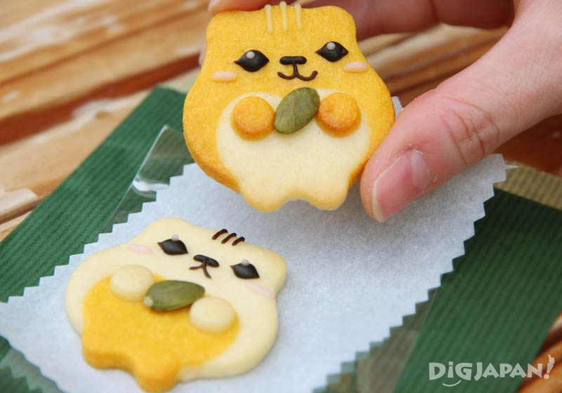 Pumpkin flavored Hamster cookies set 370 yen