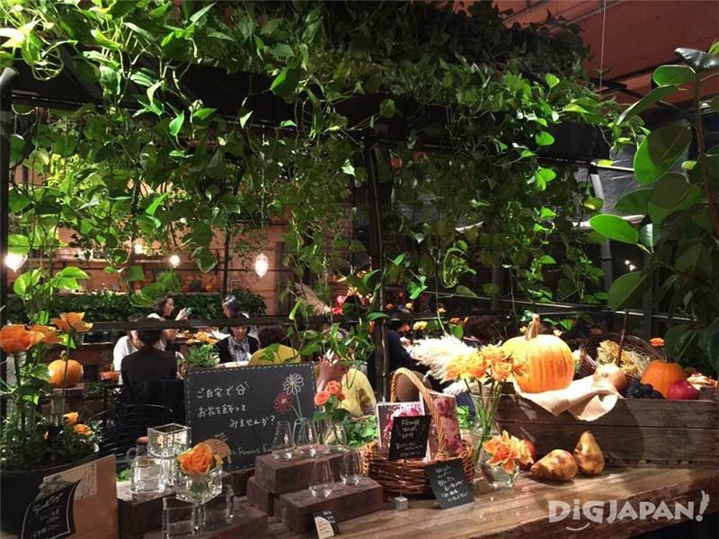 Aoyama Flower MarketTea House_2