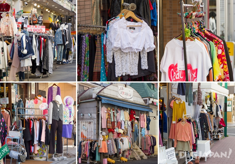 Simokitazawa, second-hand and vintage stores