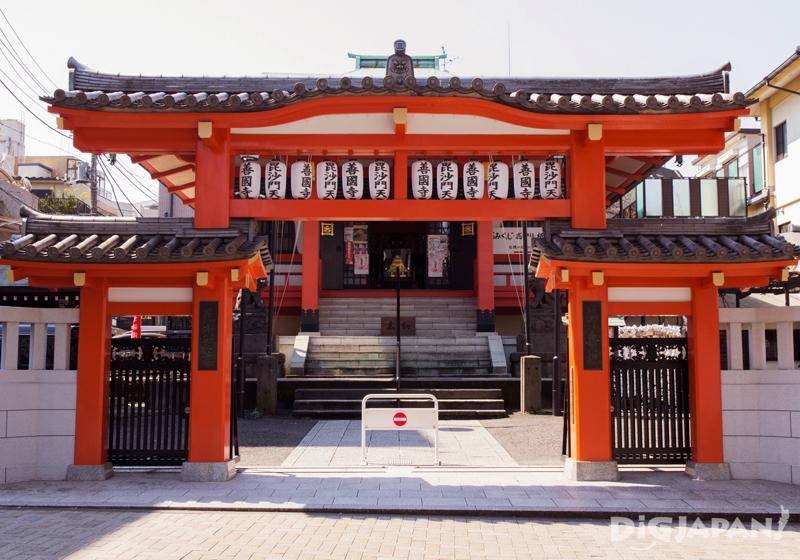 毘沙门天神社