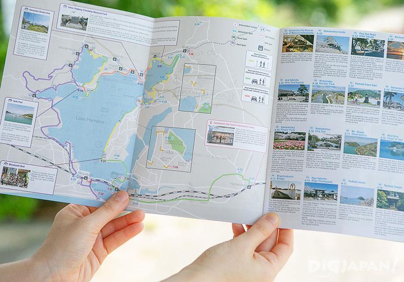 เช่าจักรยานปั่นชมวิวทะเลสาบฮามานะโกะ