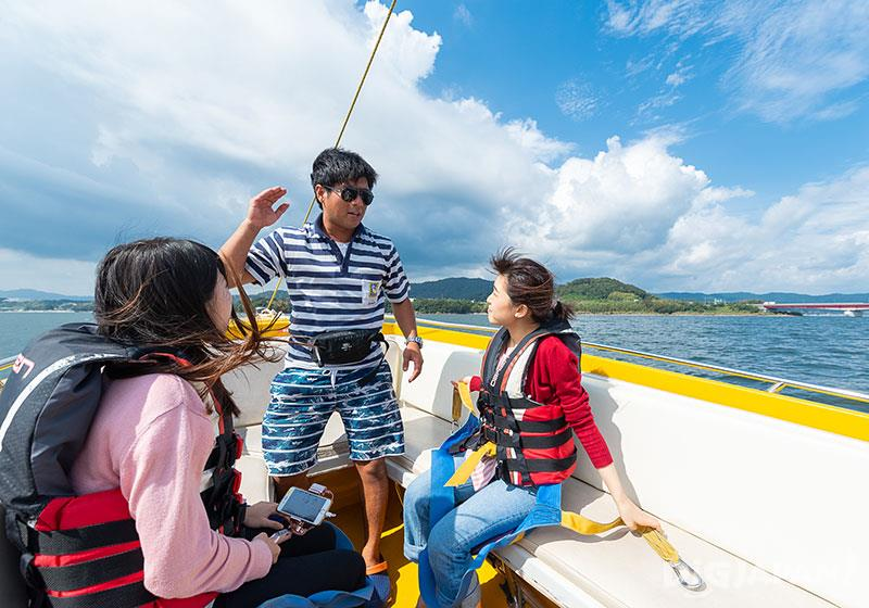 濱名湖體驗水上滑翔傘等活動