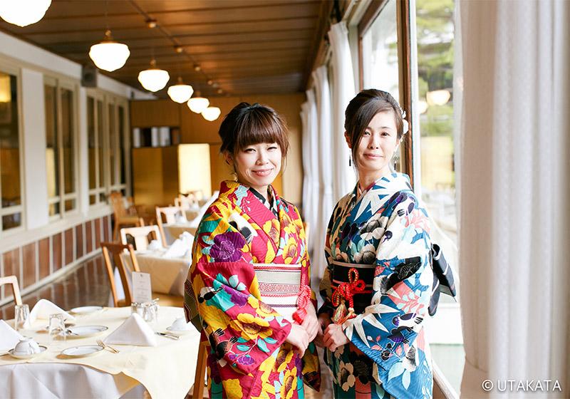 ประสบการณ์สวมใส่กิโมโน | Utakata Nikko Shop