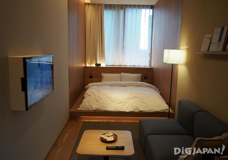 The Fusion twin room MUJI HOTEL GINZA