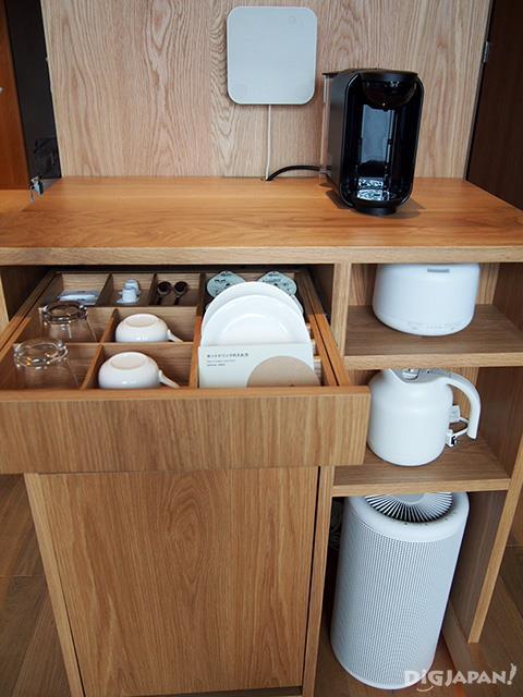 Muji products in MUJI HOTEL GINZA