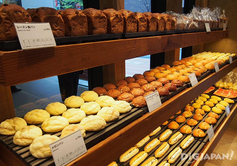 Freshly Baked Bread Made Daily: The First Muji Bakery