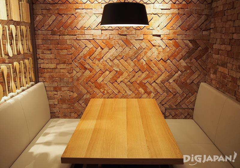 MUJI Diner interior