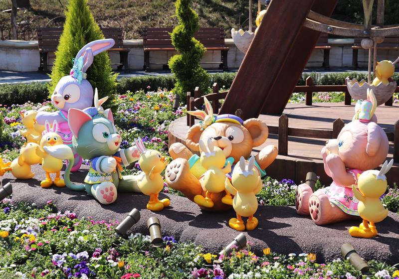 東京迪士尼海洋:首次登場的「兔耳小雞」