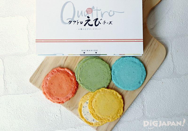 Quattro起司夾心蝦餅