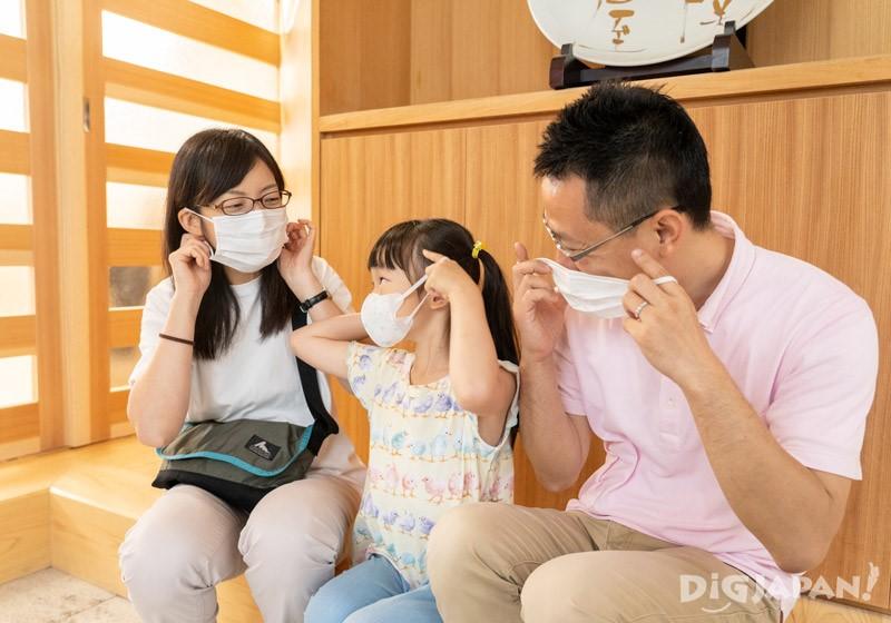 流感季節記得佩戴口罩