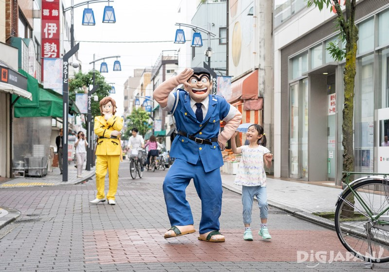 Ryo-san from Kochikame in Kameari