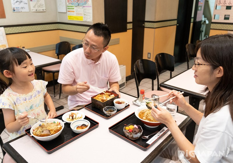 Lunch at Iseya, Kameari, Katsushika