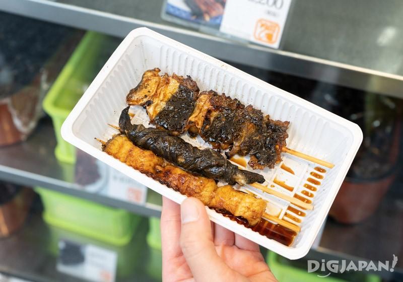 Grilled unagi eel at Unagi Kawakame, Katsushika