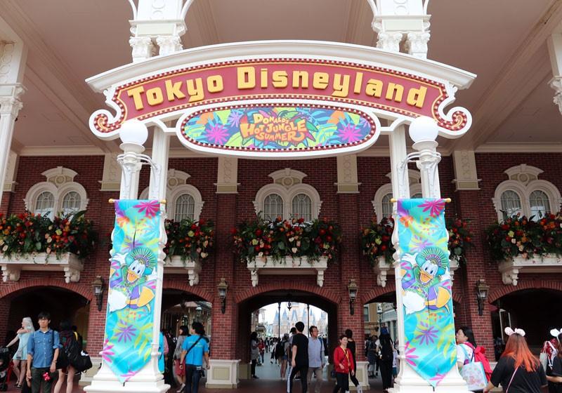 東京ディズニーランド入口