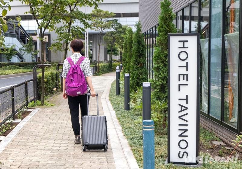 前往HOTEL TAVINOS濱松町