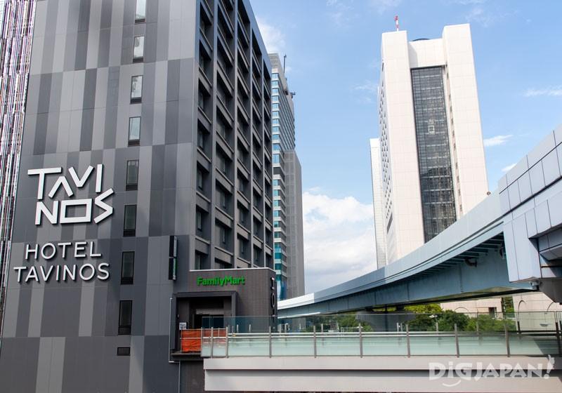 HOTEL TAVINOS濱松町外觀