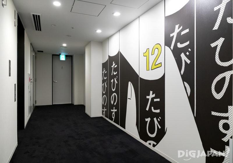 TAVINOS超级漫画风的走廊01