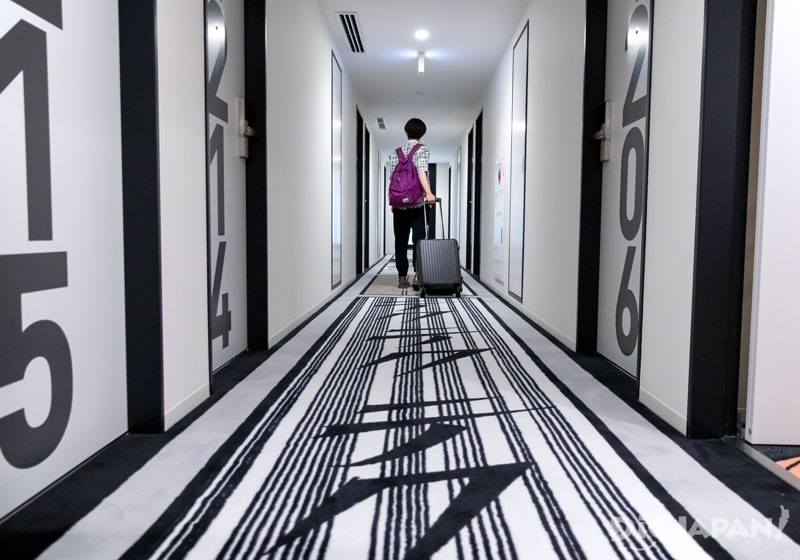 HOTEL TAVINOS Hamamatsucho corridor