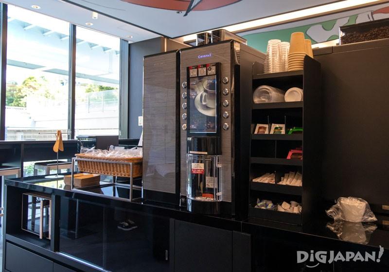 咖啡机、饮水机和制冰机可在6:30~24:00随意使用