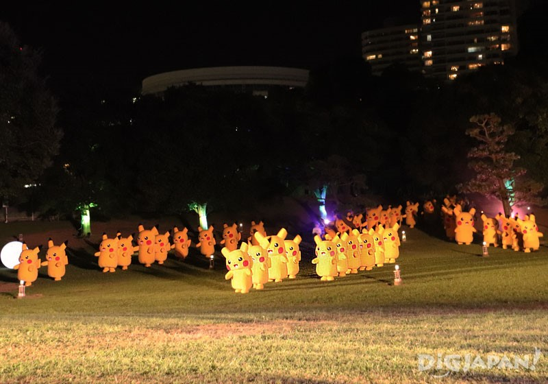 橫濱港未來樹林×皮卡丘01