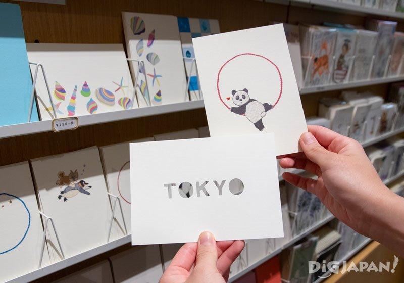 明信片每张150日元