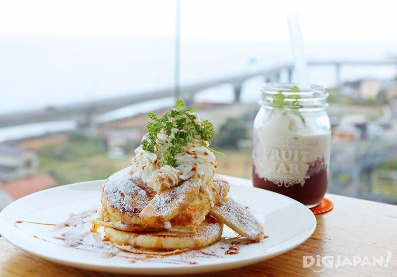 SEA BiRDS CAFE人氣蜂蜜焦糖鬆餅