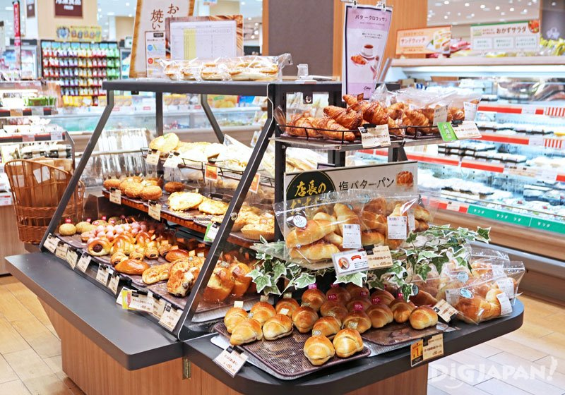 Bakery at ItoYokado Omori