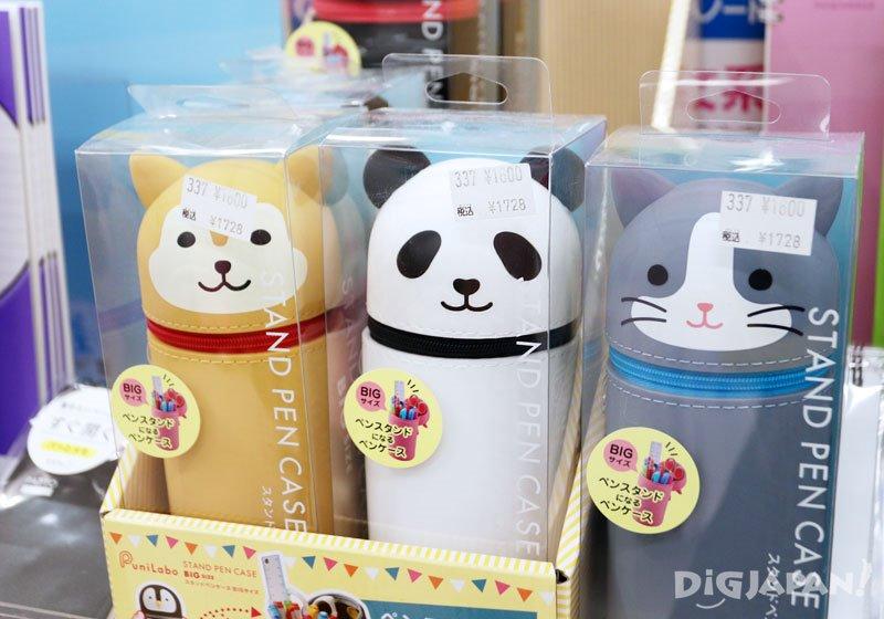 Animal standing pen cases