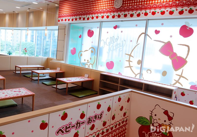 Children space in ItoYokado food court