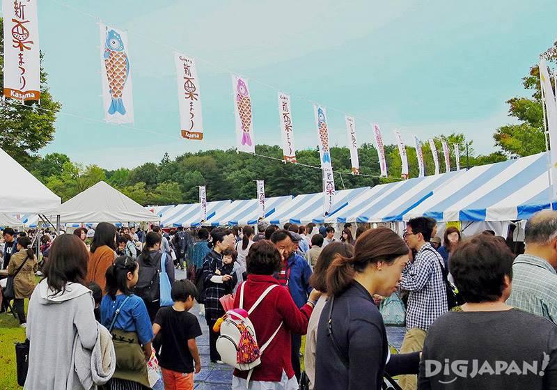 笠間新栗祭會場有各種栗子活動01