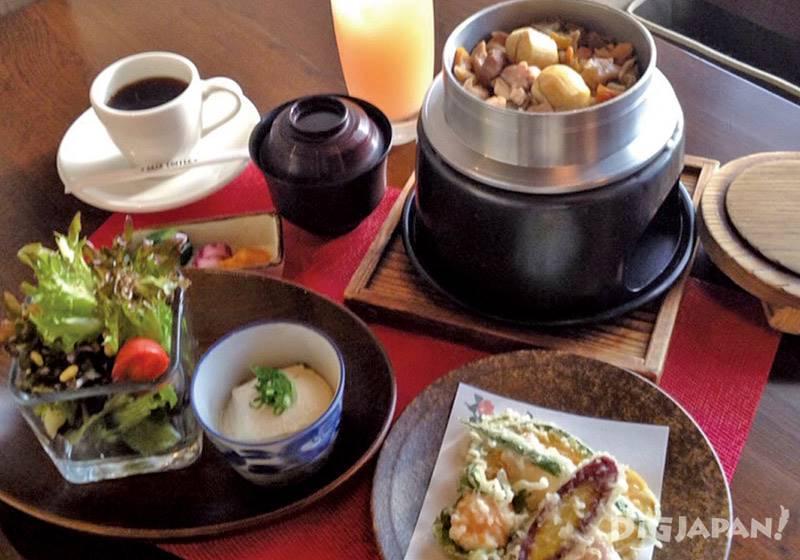笠間的栗子飯 mini套餐