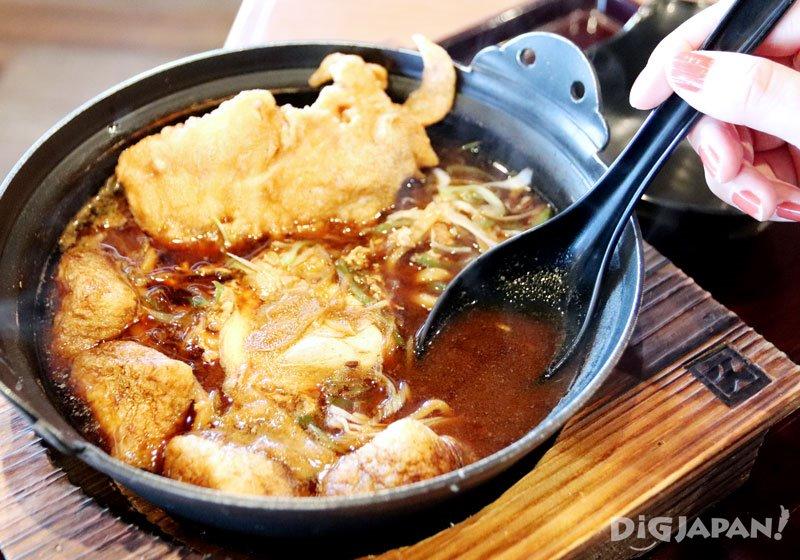 燉煮味噌烏龍麵