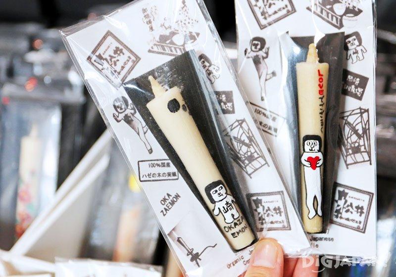 松井本和蠟燭手繪蠟燭02