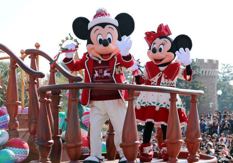 人気のパレード「ディズニー・クリスマス・ストーリーズ」03