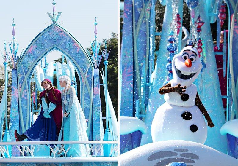 『アナと雪の女王』も登場