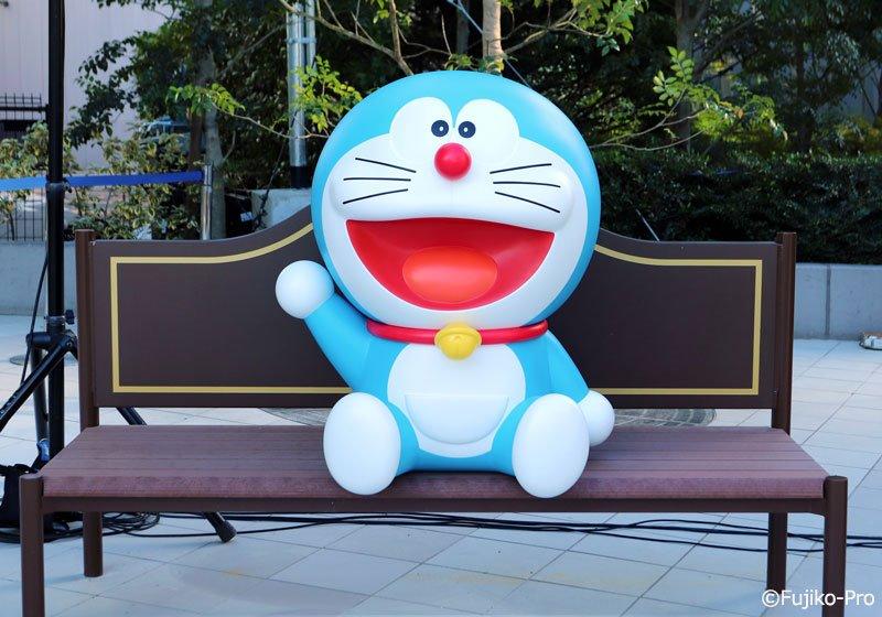 Doraemon bench