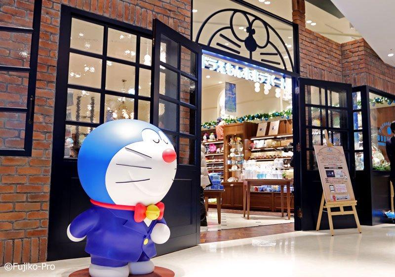 哆啦A夢未來百貨公司入口