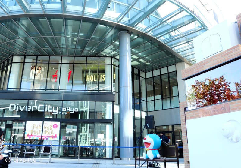 快來東京台場哆啦A夢未來百貨公司挖寶