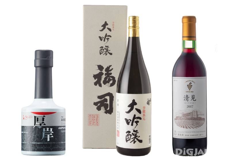 和美食搭配享用北海道美酒