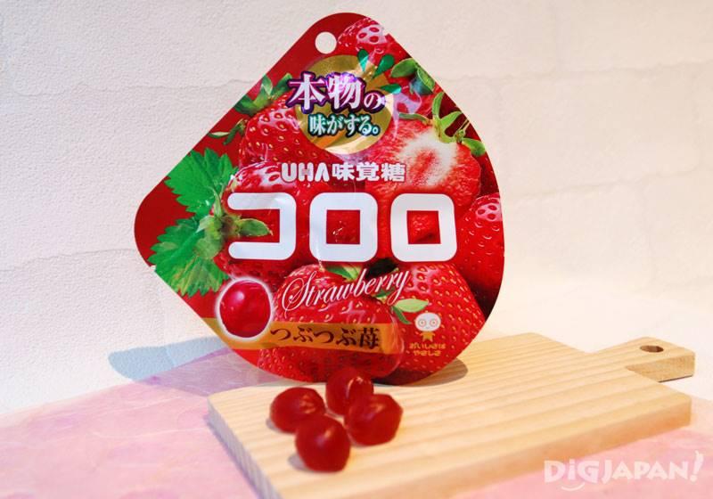 UHA味覺糖KORORO草莓軟糖