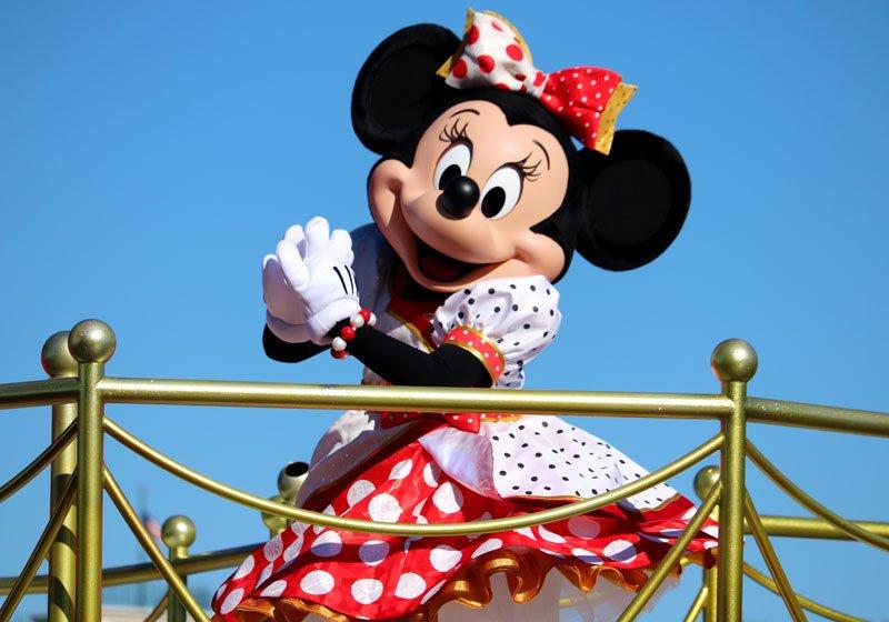 とてもかわいいミニーマウス