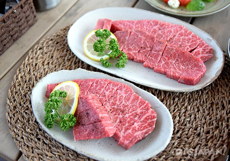 エトワ笠間 夕食コース常陸牛ステーキ