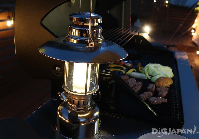 エトワ笠間 夜はランプで過ごす