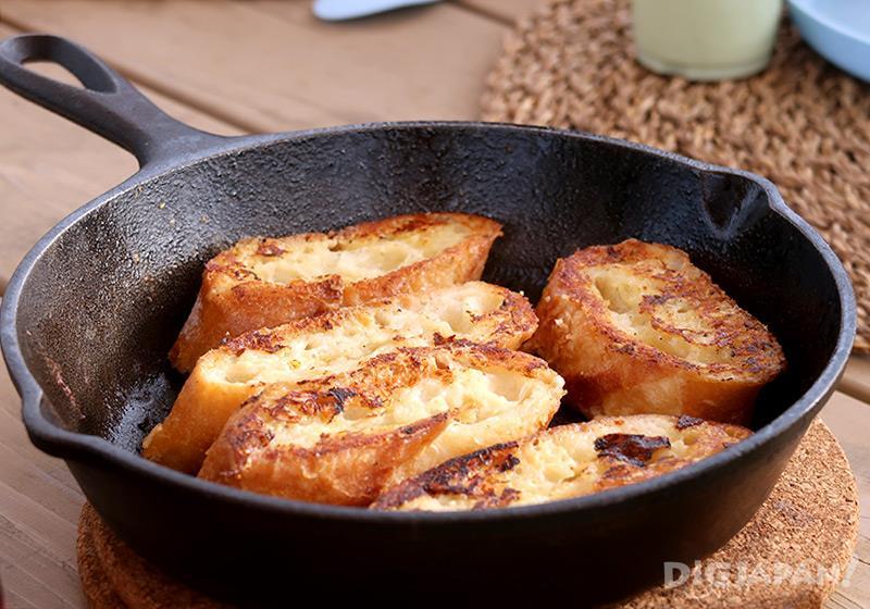 エトワ笠間 朝食フレンチトースト