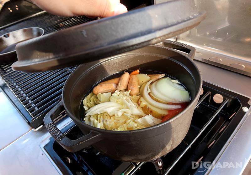 エトワ笠間 朝食ポトフ